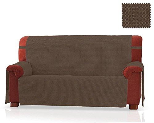 JM Textil Sofaschoner GEA Größe 2 Sitzer (130 cm), Farbe Tabak