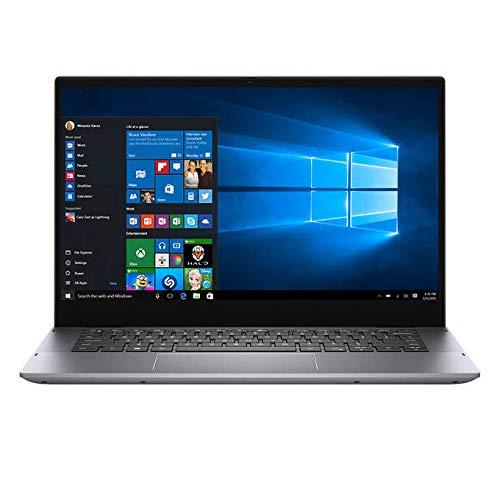 "Dell Inspiron 5000 14"" FHD 2-in-1 Touchscreen Backlit Display Laptop   11th Gen Intel Core i7-1165G7 Processor   32GB RAM   1TB SSD   Backlit Keyboard   Fingerprint Reader   Windows 10 Home   Grey"