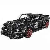 WWEI Juego de construcción para coche deportivo, 2943 piezas, compatible con Lego