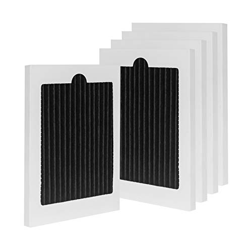 Wocase EAFCBF Pure Advantage Refrigerator Air Filter, Compatible with Electrolux Frigidaire Pure Air Ultra Refrigerator, Compare to Part Number EAFCBF, PAULTRA, 242061001, 241754001, SP-FRAIR, 5 Pack