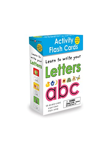 Wipe Clean Flash Cards ABC (Wipe Clean Activity Flash Cards)26 cards