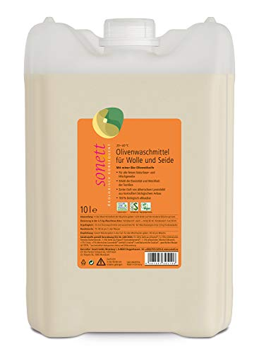 Olivenwaschmittel für Wolle und Seide: Für alle feinen Gewebe aus Naturfasern und Mischgewebe