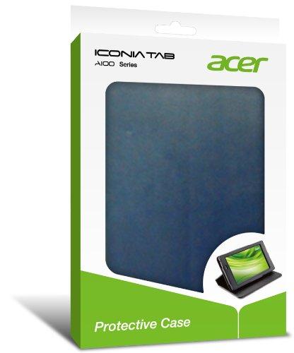 Acer A100C01B Iconia Schutzhülle für Tablet, Blau