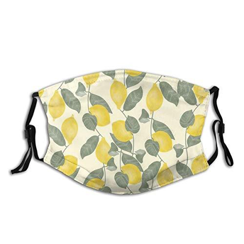 TopBABYYING Citrus Pattern Throw Pillow Balaclava Face Mask Ski Mask Hat Neck Gaiter Headwear for Women Men10 PCS
