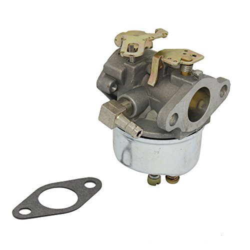 Replacement Carburetor for Tecumseh Snowblower Engine Motor