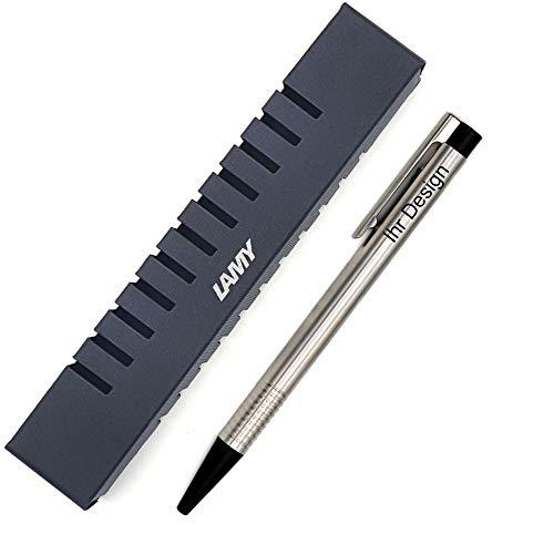 Lamy Kugelschreiber logo matt Modell 205, schwarz, mit Gravur (Lasergravur), V60