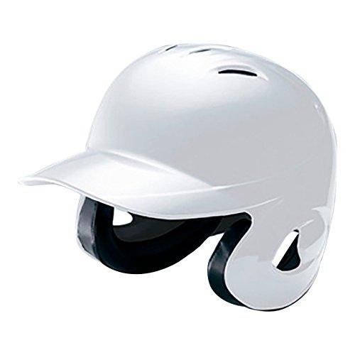 MIZUNO(ミズノ) ソフトボール用ヘルメット(両耳付打者用) (1DJHS101) 01ホワイト 01ホワイト L