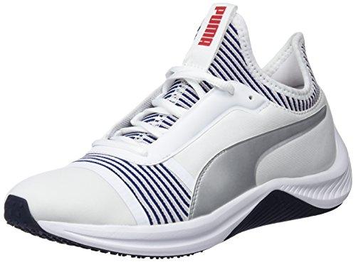 Puma Damen Amp Xt WN's Fitnessschuhe, Weiß White-Peacoat 02, 39 EU