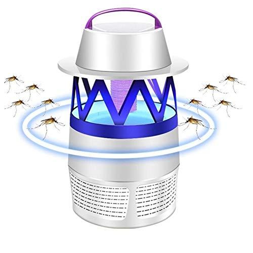 Lámpara Antimosquitos, Mosquito Killer Al Aire Libre Mudo Trampa De Insectos Seguridad Protección Del Medio Ambiente Asesino De Mosquitos LED Carga USB Para Uso Interior Y Exterior ( Color : B )