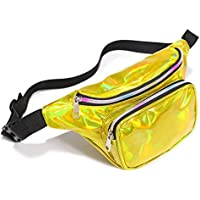 Packism Festival Travel Rave Party Neon Iridescent Hip Bum Bag