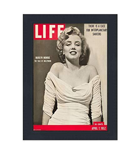 Life Magazine 写真フレーム アクリル製 裏板 グレーマット付き 10.5インチ×14インチ あらゆるマガジンをディスプレイ F8693_MAG_10.5x14