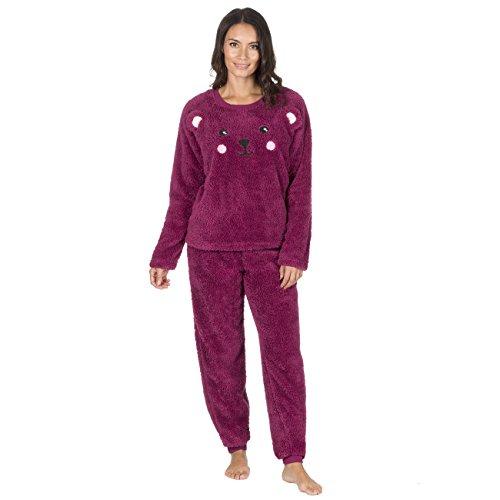 Pyjama deux pièces Forever Dreaming en polaire douce - Rouge - Small