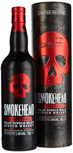Smokehead SHERRY BOMB Islay Single Malt Scotch Whisky (1 x 0.7 l)