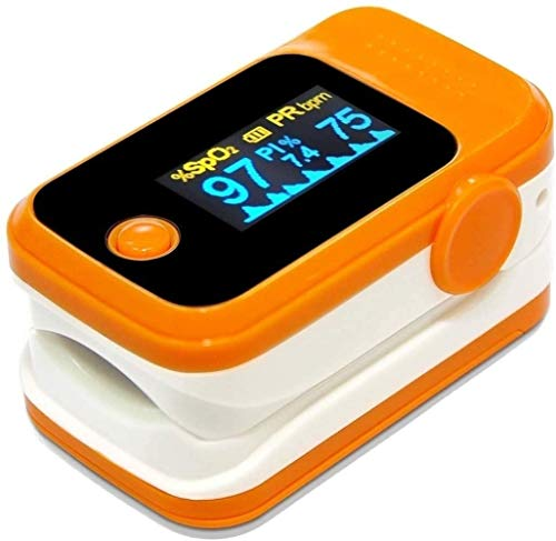 MEWG Saturatiemeter, zuurstofverzadigingsbereik Monitor for Volwassen Kind, Test for Sp02 Blood Concentratie en hartslag Snel snelle meting, nauwkeurig en betrouwbaar