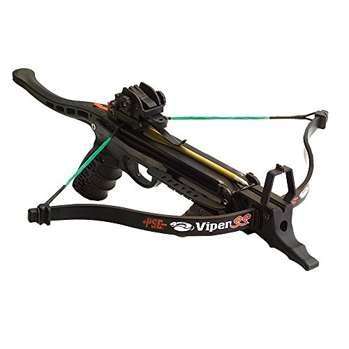Southland Archery Supply PSE Viper SS Handheld Pistol Crossbow Package with Bag and Extra Arrows (Pistol with 23 Arrows)