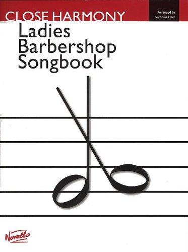 Novello Ladies Barbershop sångbok -For SSAA-: Singpartitur, körpartitur för kvinnokör (SSAA)