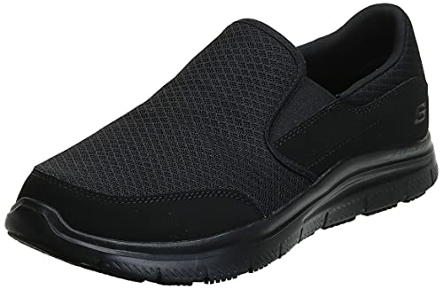 Skechers Men's Black Flex Advantage Slip Resistant...