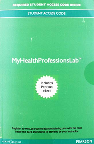 Mylab Health Professions with Pearson eText Access Card: A Guided Approach to Intermediate & Advanced Coding