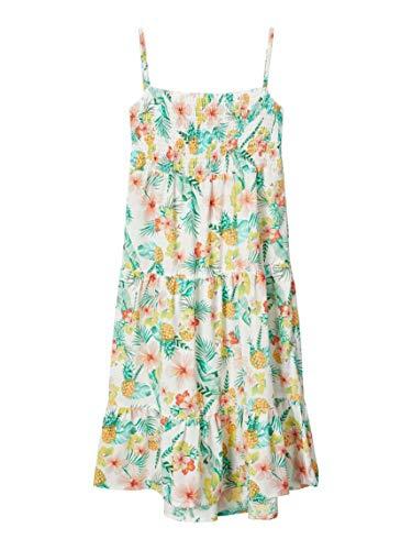 NAME IT Mädchen NKFVINAYA Strap Maxi Dress HH Kinderkleid, Snow White, 152