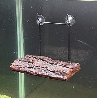 Bennlife Turtle Platform 【6.69 X 4.33 X 0.78 INCH】, Floating Turtle Pier Rectangular Terrapin Dock PU Foam Aquarium Float Decoration Bask Terrace Climb Brazilian Tortoise