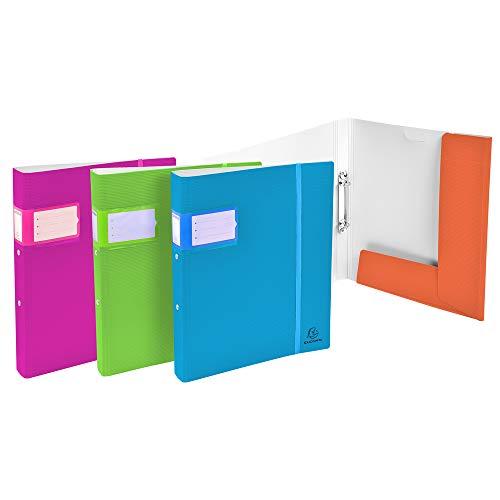 Exacompta 54561E Polypropylen (PP) -Datei A4 - Dateien (herkömmlicher Aktenordner, Polypropylen (PP), A4, 320 mm, 268 mm), verschiedene Farben, 1 Stück