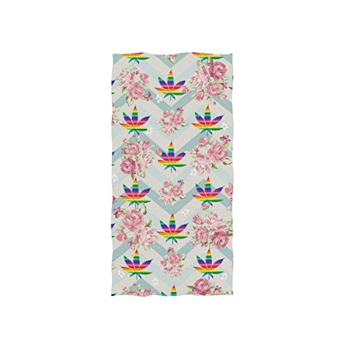 Bert-Collins Towel Toalla de Playa Decorativa LGBT Gay Pride para baño Fitness, 80x130cm
