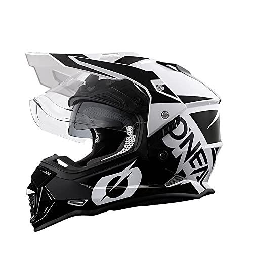 ONEAL オニールモトクロス オフロード ヘルメット オフロードヘルメット ダブルシールド 現行モデル デュアルスポーツ 対応 (A3, L(頭囲59-60cm))