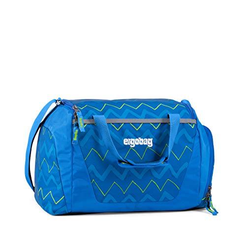 ergobag Sporttasche - mit Nassfach, 20 Liter - LiBäro 2:0 - Blau