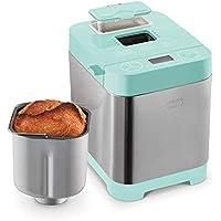 Dash Everyday Stainless Steel Bread Maker, 1.5 lb (Aqua)