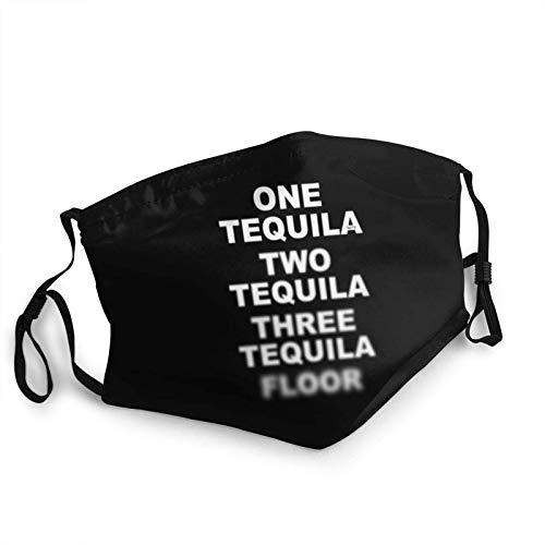 ZSMJ Design Tequila Floor (2) FaceBandana reutilizable cómoda lavable para niños invierno cálido bufanda