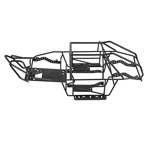 Pwshymi Marco RC Metal Marco de Coche RC Estructura Fuerte Jaula antivuelco RC para Axial SCX10II AX90046 Escala 1/10 Coche RC