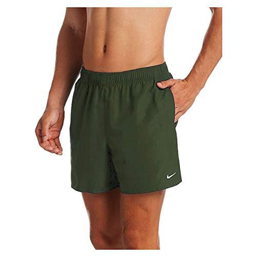 Nike 5 Volley Short, Costume da Bagno Uomo, Verde Oliva Medio, M