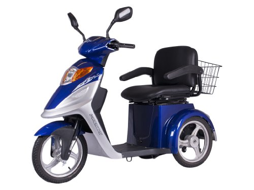 XMB-420 Elite 3 Wheel Electric Mobility Scooter (Blue)
