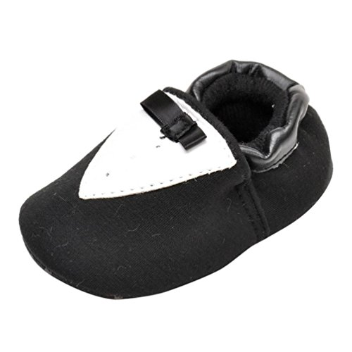 kingko® Né bébé Enfants garder au chaud Chaussures Filles Garçons Prewalker bowknot Toddler semelle souple (0~6 mois)