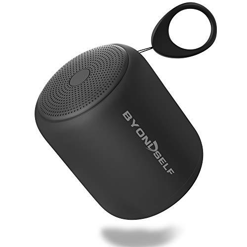 Mini Bluetooth Lautsprecher mit Radio, Musikbox Klein Tragbar TWS Stereo Sound, Bluetooth Box Wasserdicht ipx5, 12h Akku, Eingebaut Mikrofon Freisprechen, AUX/TF, versiegelte Exquisite Verpackung