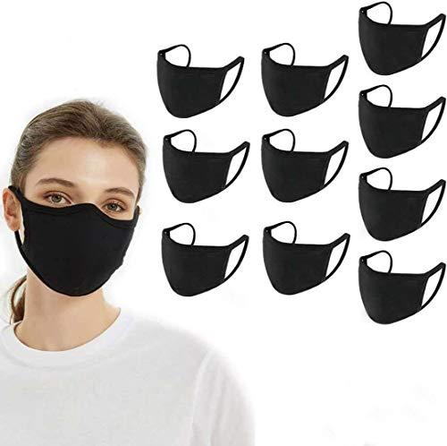Aojun 10 pcs Fundas protectoras de algodón transpirable anti- polvo Lavable Retutilizable