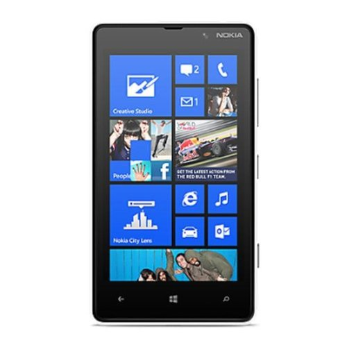 T-Mobile Nokia Lumia 820 8GB Smartphone (10,92 cm (4,3 Zoll), 800 x 480 Pixel, AMOLED, 1,5 GHz, Qualcomm, S4)