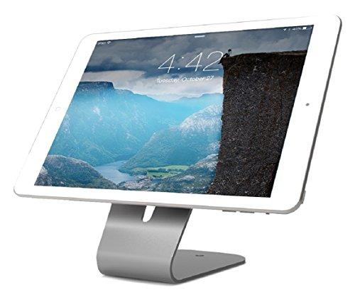 Maclocks The HoverTab universeller Stand für alle Smartphones & Tablets [Diebstahlgeschützt | Abschließbar | 60 Grad Neigungswinkel] - HOVERTAB