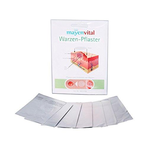 mayenVITAL Warzenpflaster 28 Stück, Behandlung von Warzen Fibrom Hausauswüchse, Warzenmittel Warzenentferner, Salizylsäure