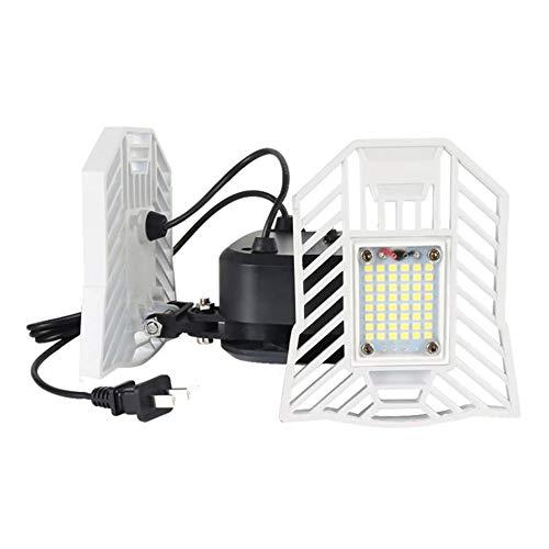 WZTO LED Security Lights Flood Light Outdoor With Plug ,40W 4000LM Deformable LED Super Bright Work Light,IP65 Waterproof Outdoor Landscape Floodlight Led Shop Light For Garage Workshop Home Lighting