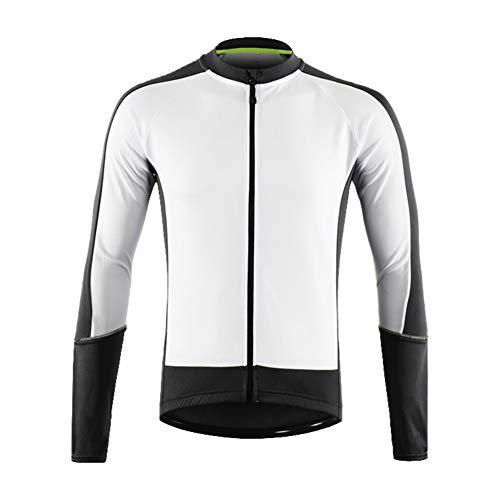 LY4U Giacca da ciclismo da uomo antivento Softshell manica lunga in pile invernale termico traspirante giacca sportiva per equitazione corsa