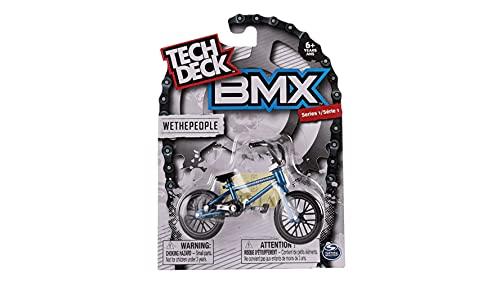 Tech Deck BMX Finger Bike Series 12-Replica Tech Deck Bike Real Metal Frame, Moveable Tech Deck Parts for Flick Tricks Finger Bike Games