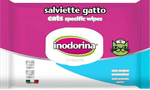 Inodorina Funzionale 40 salviette – Specifica per Gatto