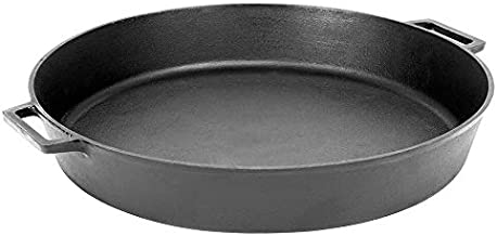 Bayou Classic 7438 20-Inch Cast-Iron Skillet