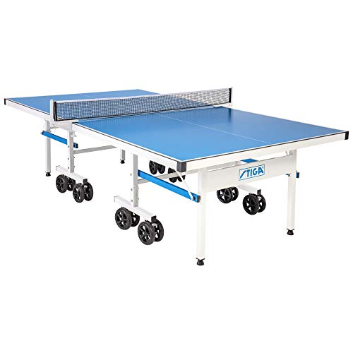Great Features Of Stiga XTR Pro Indoor/Outdoor Table Tennis Table 90% Assembled Out of the Box, 15-M...