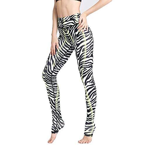 ZEIYUQI Yoga Panty Dames Fitness Leggings Wild Leopard Prints