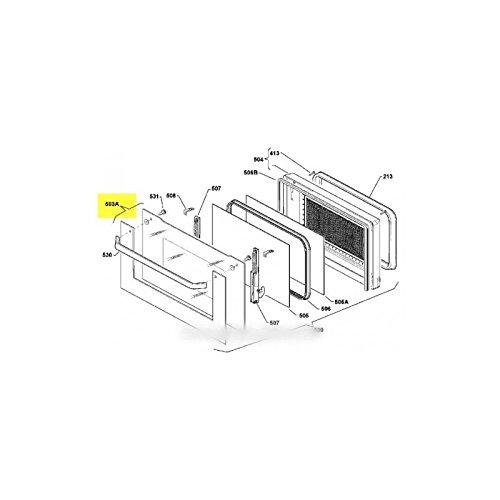 Electrolux–Cristal de puerta Exterieur para horno Electrolux