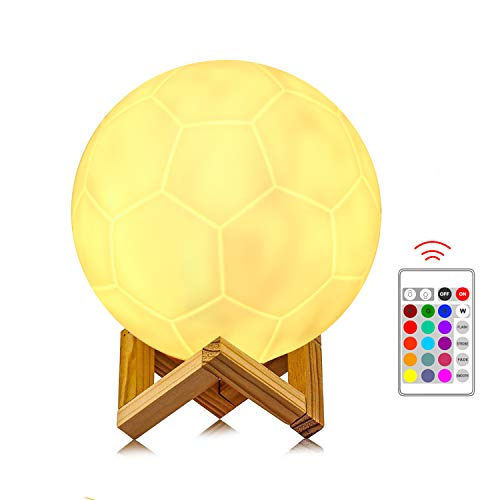 Usmoscat -   LED Fußball Lampe