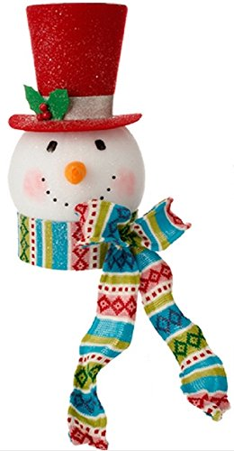 Snowman Head Tree Topper Christmaslit Com