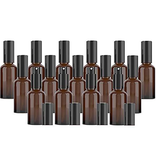 Botellas de cristal en espray para perfume, pulverizador de perfume, botellas de viaje portátiles con embudo para la limpieza de perfumes, aceites esenciales y fijador del cabello, etc.